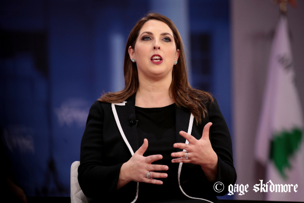 RNC Chairwoman Self Quarantines after Being EXPOSED to Coronavirus