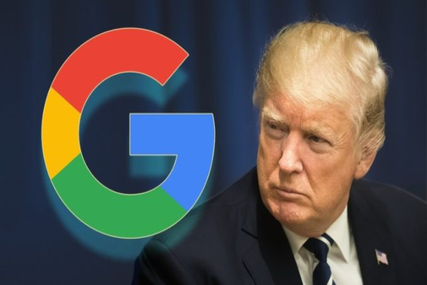 Trump google website