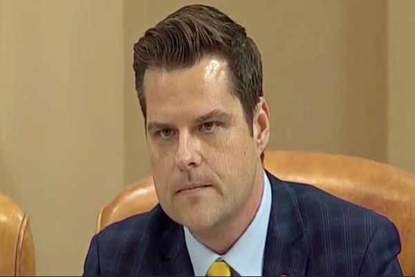 gaetz Quarantined