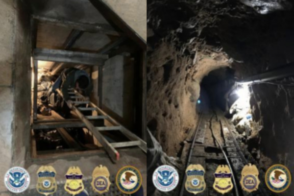 Drug MEGA Tunnel Discovered under the US/Mexico Border